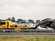 Meerdere voertuigen betrokken bij ongeluk op A27, flinke file in beide richtingen