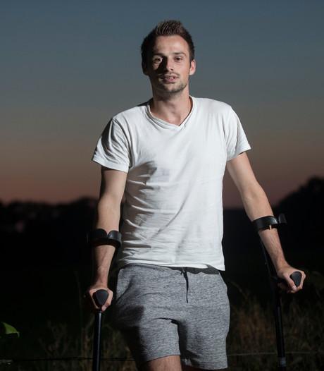 Benno Jansen voorzichtig terug op veld