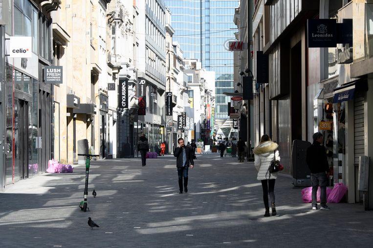 Nieuwstraat, Brussel.