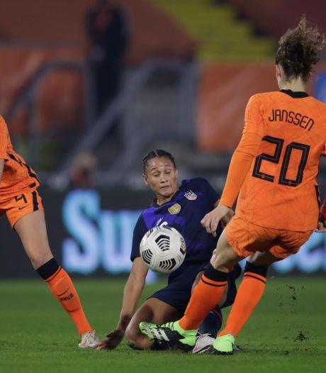 Leeuwinnen hebben nog een kloof te dichten na nederlaag tegen wereldkampioen VS