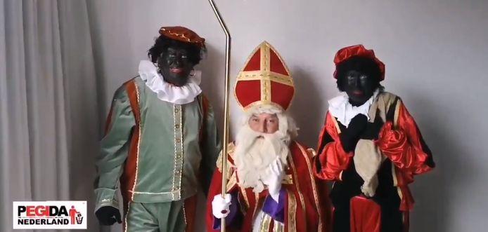 Pegida oproep Zwarte pieten Apeldoorn