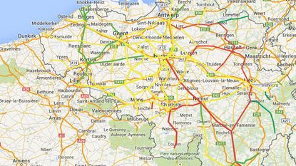 Zwaarste ochtendspits van het jaar in Vlaanderen door treinstaking en ongevallen