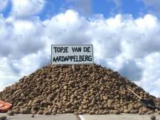 Rotterdammers mogen scheppen van enorme aardappelberg die over is door coronacrisis