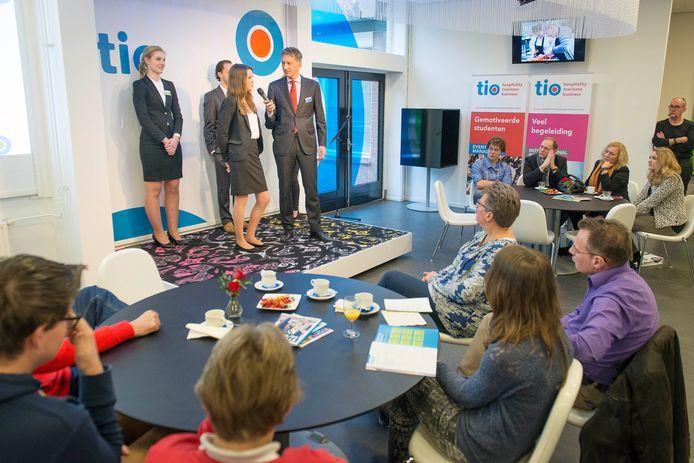 Impressie van een open dag bij hogeschool Tio in Hengelo