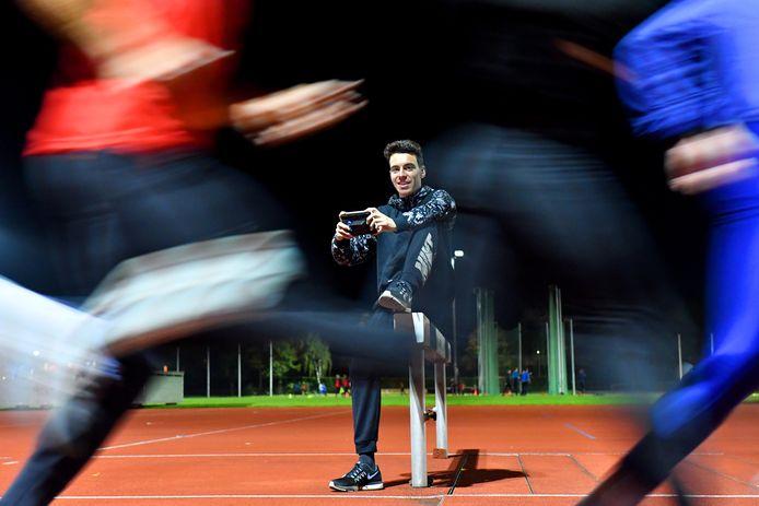 Sjoerd Weijers zet zijn topsportloopbaan tijdelijk op een laag pitje.