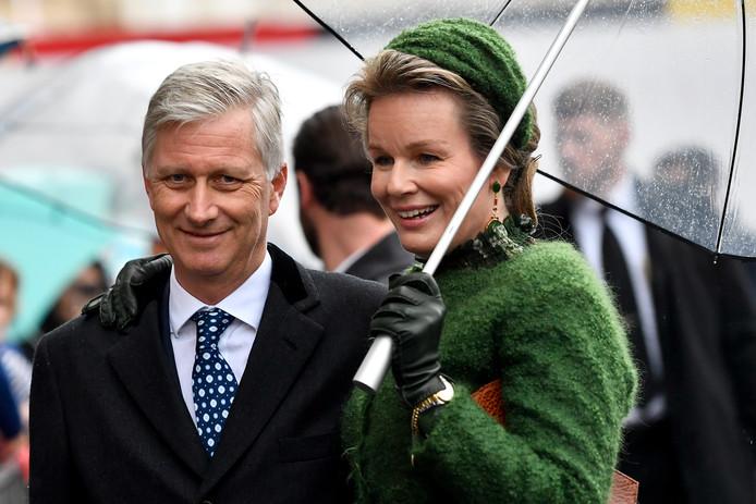 Le Roi et la Reine au Luxembourg ce 15 octobre 2019