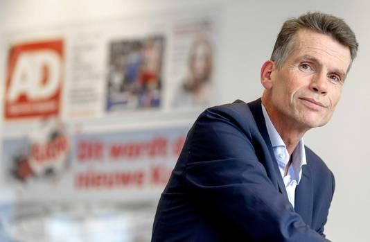 Hans Nijenhuis, hoofdredacteur van het AD.