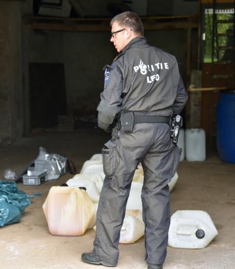 81-jarige die 'niets wist' van drugslab in schuur gaat vrijuit