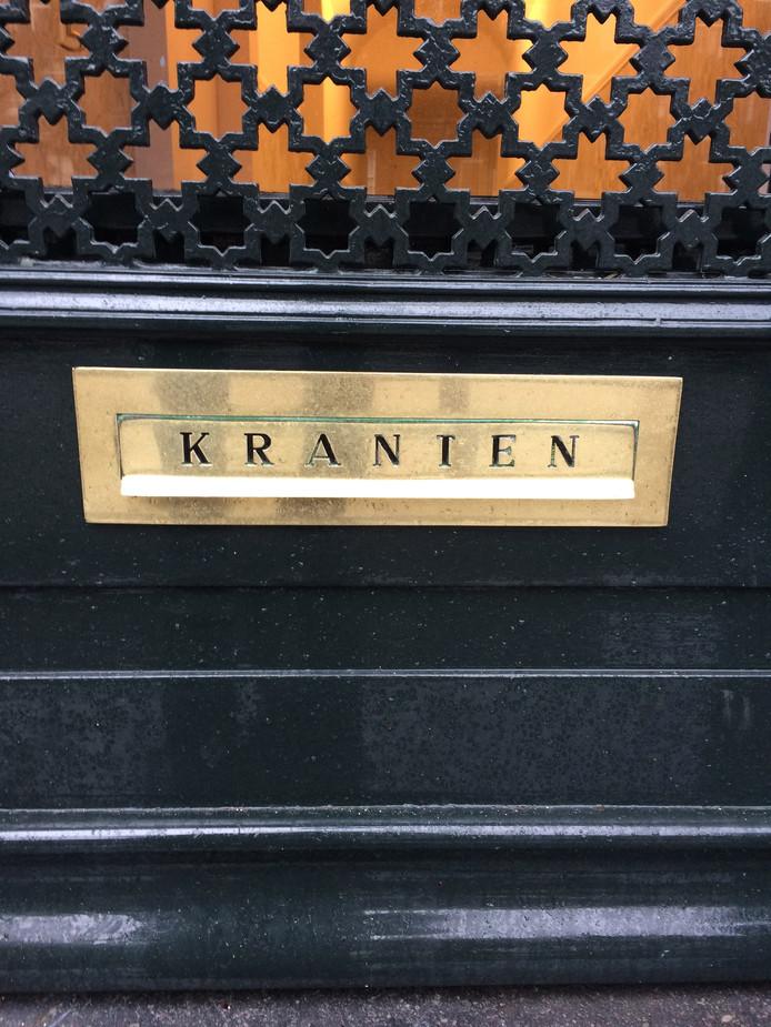 Geen brief van gemeente en politie in veel brievenbussen in Breskens.