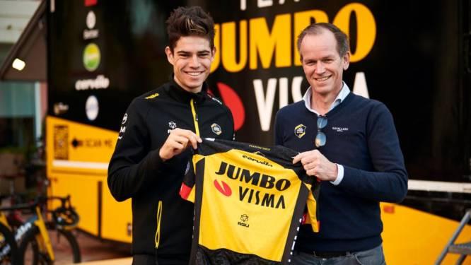 """Wout van Aert tot 2024 bij Team Jumbo-Visma: """"Het was voor mij het beste om hier te blijven"""""""