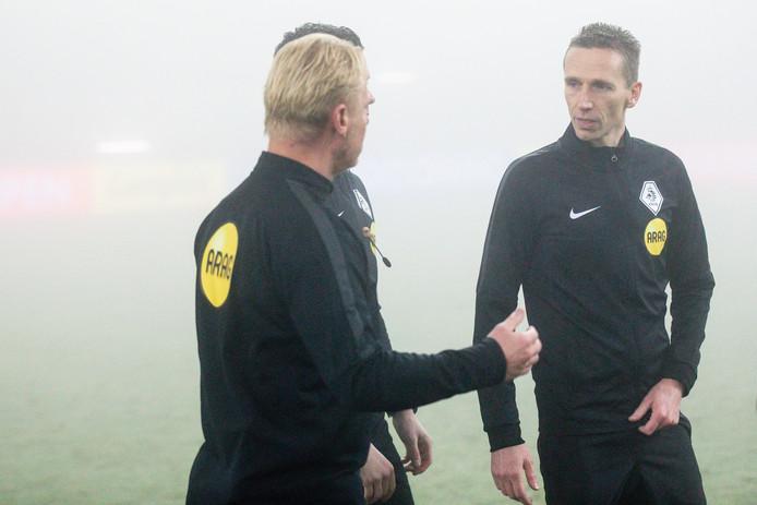 Kevin Blom met assistent Johan Balder.