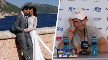 """Geërgerde Nadal krijgt na verlies op ATP Finals plots vraag over zijn huwelijk: """"Dit is bulls**t"""""""