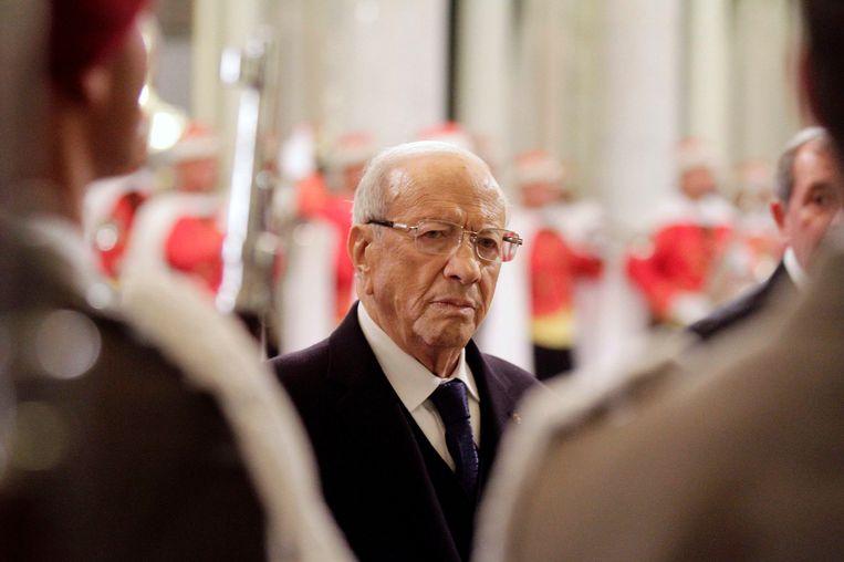 Sinds de democratische omwenteling van 2011 werden de mensenrechten in een reeks wetten verankerd in Tunesië. Zo benoemde president Beji Caïd Essebsi een commissie om homoseksualiteit te legaliseren, de doodstraf af te schaffen en de ongelijkheid van man en vrouw in het erfrecht te beëindigen.  Beeld Reuters