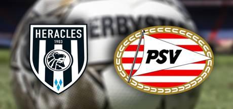 PSV paar uur later tegen Heracles Almelo
