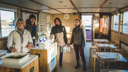 Milieuboot houdt halt in Schelle