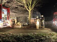 Brand op zolder van woonboerderij bij Haarle
