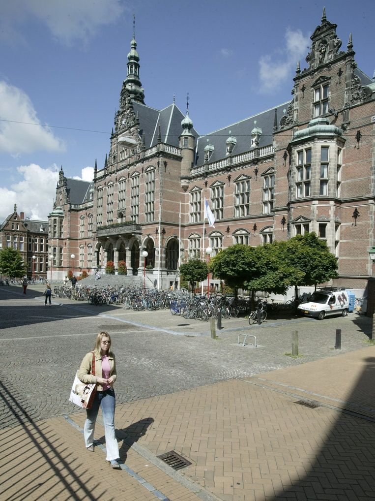 Het Academiegebouw van de Rijksuniversiteit Groningen. Beeld ANP