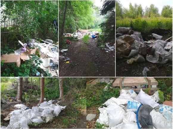 In juni van dit jaar werd meer dan twintig kubieke meter afval gedumpt op verschillende plaatsen in Puurs-Sint-Amands