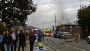Brand legt vijf appartementen in de as in Begijnendijk