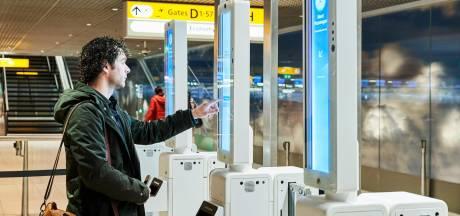 Dankzij gezichtsscanners nooit meer in de rij op Schiphol