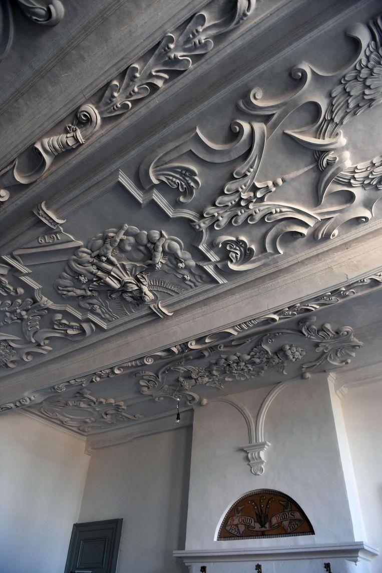 Onder meer de prachtig gerestaureerde plafonds zijn te bewonderen tijdens Parkabdijopzondag.