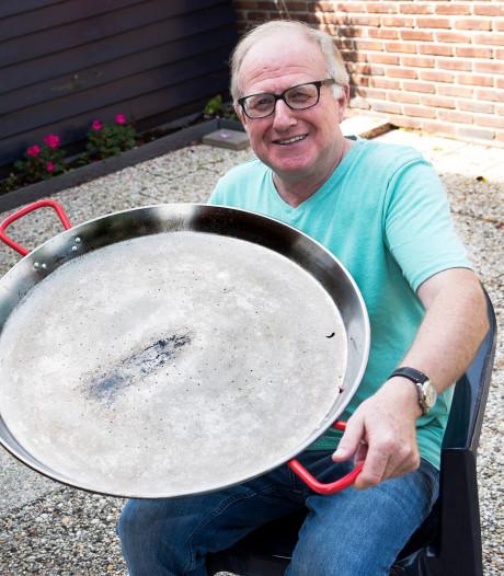 Te koop: paellapan, ook fijn voor de buurtjes