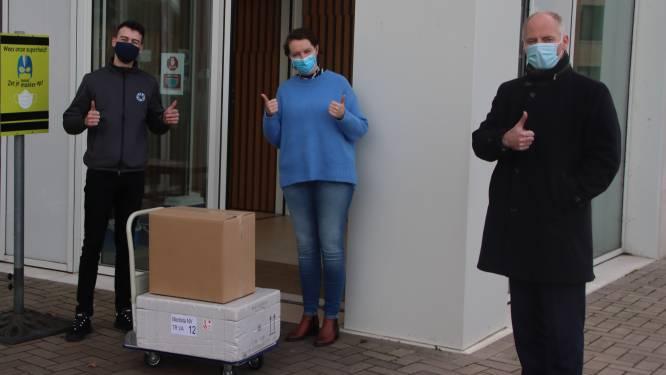 Eerste vaccins voor woonzorgcentra toegekomen in Lanaken
