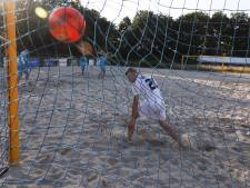 Beach Soccer Zeeland wint en verliest op eigen toernooi