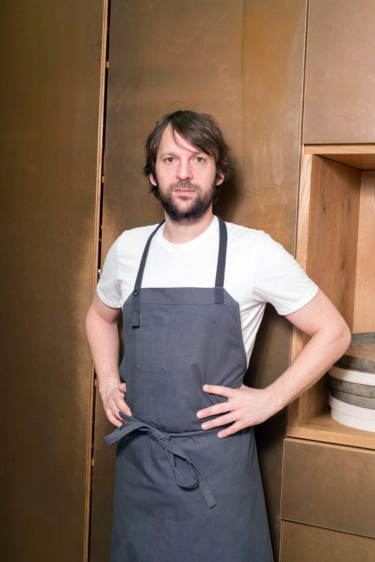 René Redzepi is een Deens chef-kok en mede-eigenaar van het tweesterrenrestaurant Noma in Kopenhagen. Redzepi is bekend vanwege zijn aandeel in de vernieuwing van de noordse keuken. Beeld Els Zweerink