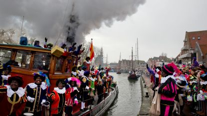 Overal in Nederland wordt betoogd tegen intrede van Sinterklaas