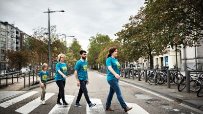 Refugee Walk knipoogt naar The Beatles