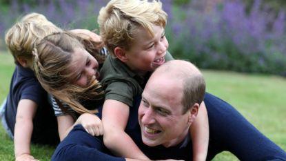 Kate Middleton verrast jarige prins William met familiefoto's