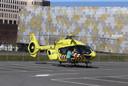 De helikopter wordt speciaal ingezet om intensive care-patiënten zoi snel mogelijk te vervoeren.