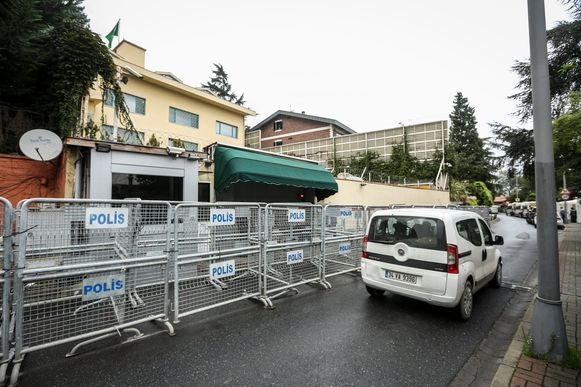 Saudisch consulaat in Istanbul.