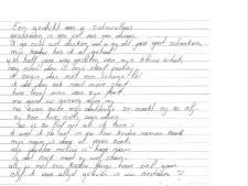 Sinterklaasrijm uit Arnhemse cel voor dochtertje (3) ontroert: 'In uw boek moet zij wel staan'