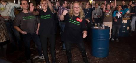 Boeren spekken actiekas met feest in Aalten: 'Afdwingen is het enige antwoord'