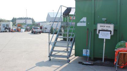 """Containerparken Verko openen, maar enkel op afspraak: """"En de politie zal toezicht houden op naleving van de regels"""""""