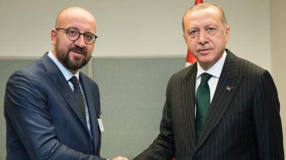 """Michel: """"Openhartig"""" gesprek met Erdogan, """"maar we zijn niet doof en blind"""""""