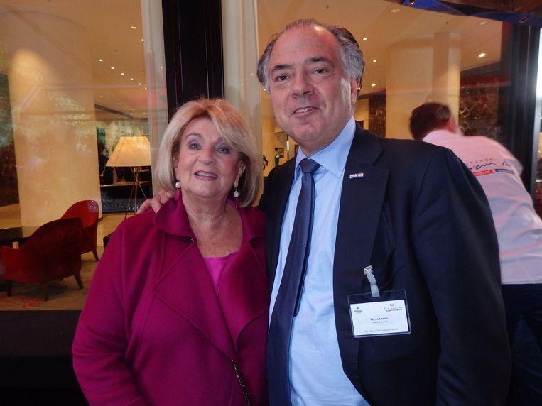 Diamantair/pater familias Benno Leeser en zijn partner Kitty Leeser. Beeld Schuim