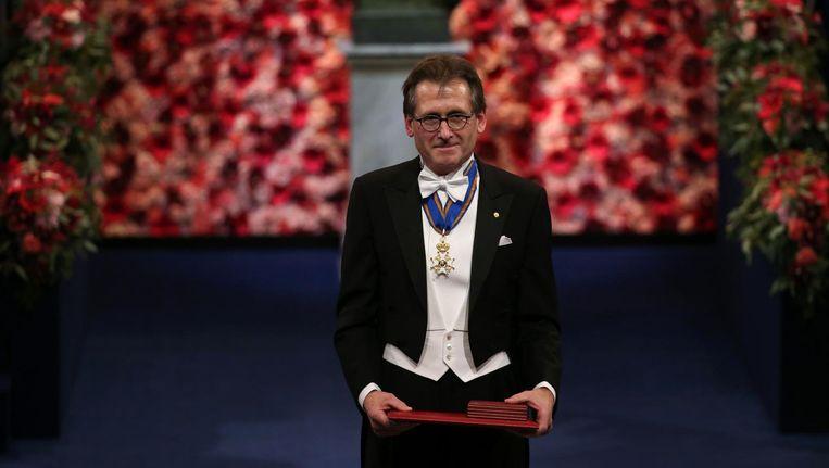 In 2016 won de Nederlandse professor Ben Feringa een van de drie Nobelprijzen voor de scheikunde. Beeld ANP
