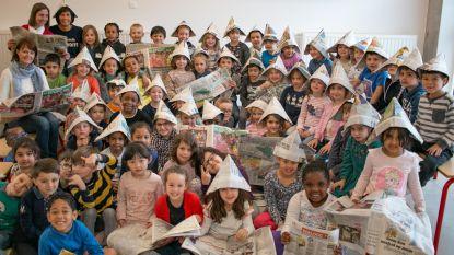 Kleuters ontdekken wondere wereld van het nieuws