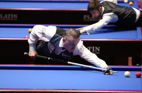 Drievoudig wereldkampioen Frédéric Caudron, ambassadeur bij de nieuwe organisatie PBA, kreeg al de halve biljartwereld over zich heen.