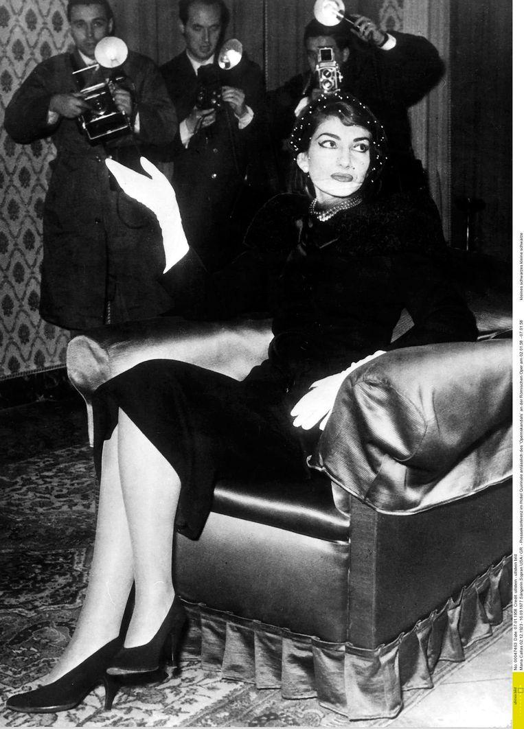 In 1958 in Rome tijdens een persconferentie Beeld RV