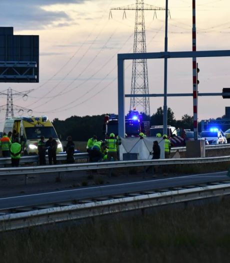Motorrijder uit Yerseke ernstig gewond bij ongeluk op A58