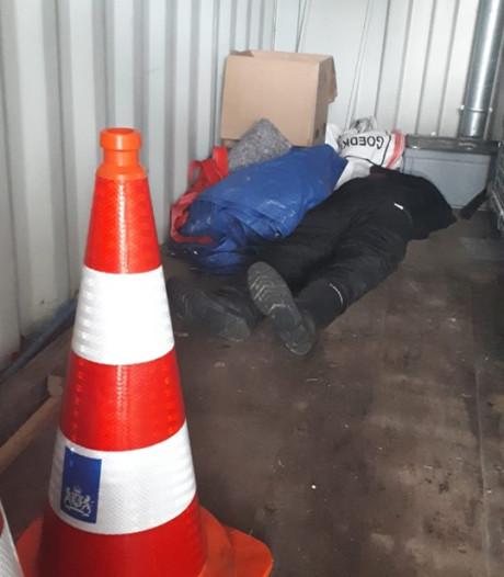 Angstaanjagende vondst in container langs de A12