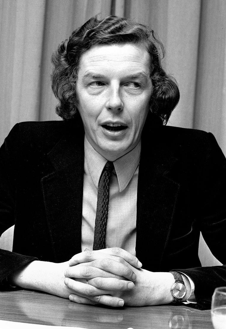 De jonge en jeugdige Wim Kok met lang haar. Beeld Hollandse Hoogte / Bert Verhoeff