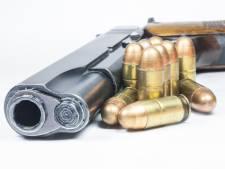 Doorgeladen vuurwapen en masker in geparkeerde auto in bos bij Goirle, twee mannen aangehouden