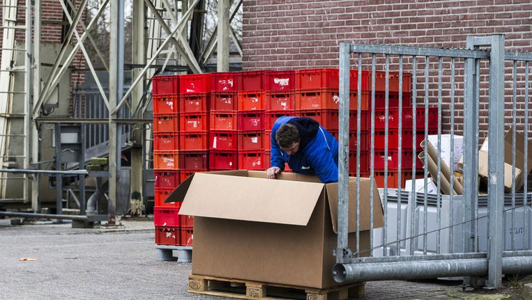 Exterieur van vleesleverancier Beimer Meat. Het vlees in Zweden dat besmet is met de EHEC-bacterie komt van dit bedrijf in Enschede. Beeld ANP