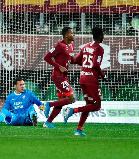 Olympique raakt na blamage achterop bij PSG