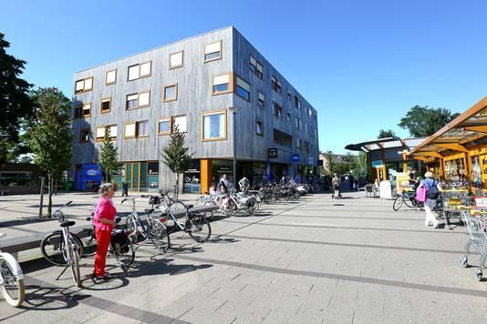 Winkelcentrum Aller Erf in de wijk Dragonder Noord.